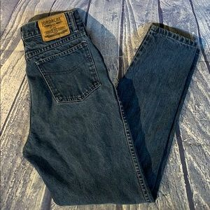 Vintage Jordache High Waist Dark Wash Mom Jeans 11
